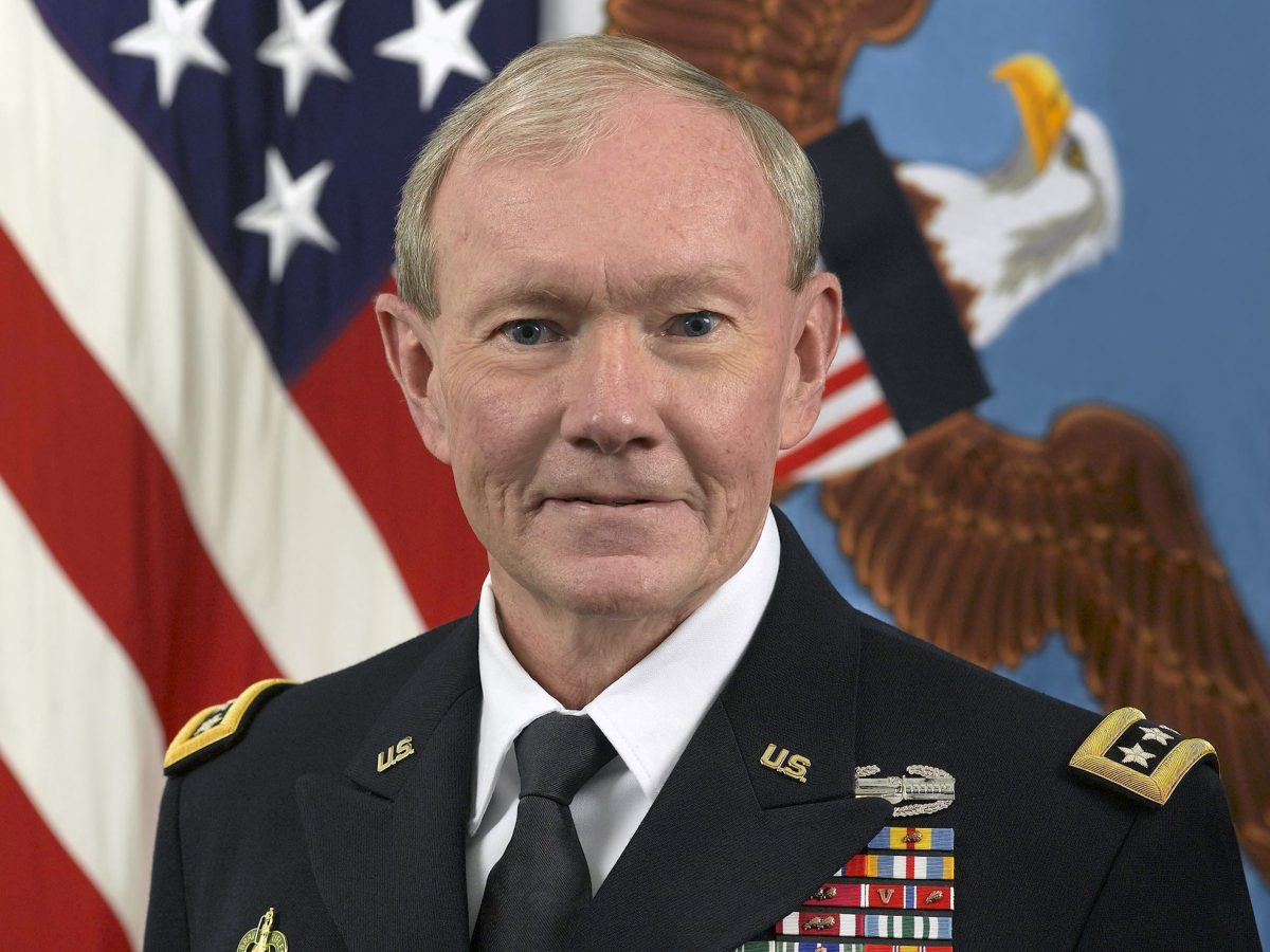 Official portrait of General Martin Dempsey